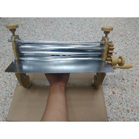 Maquina Laminadora De Masa 30cm, Beige