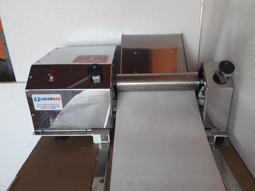 maquina laminadora eléctrica para arepas de maíz