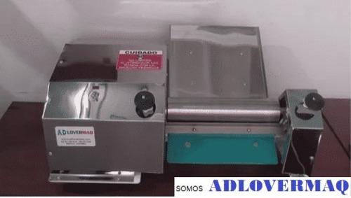maquina laminadora electrica para empanadas masa de maiz