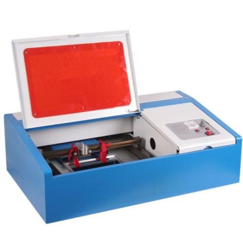 maquina laser co2 40w grabar corte plotter impresion digital