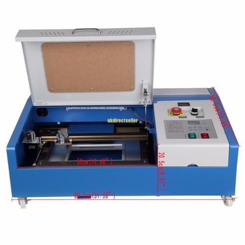 maquina laser co2 40w usb grabado y corte plotter impresion
