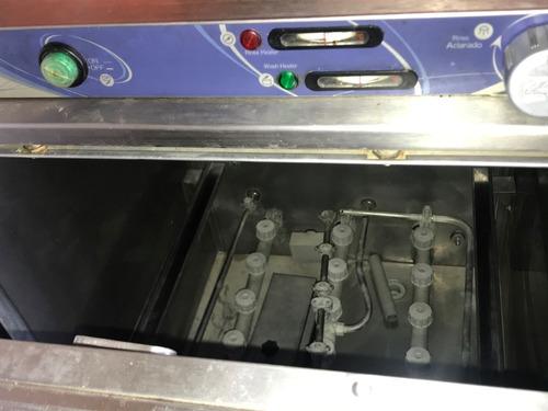 maquina lavadora de vajilla industrial