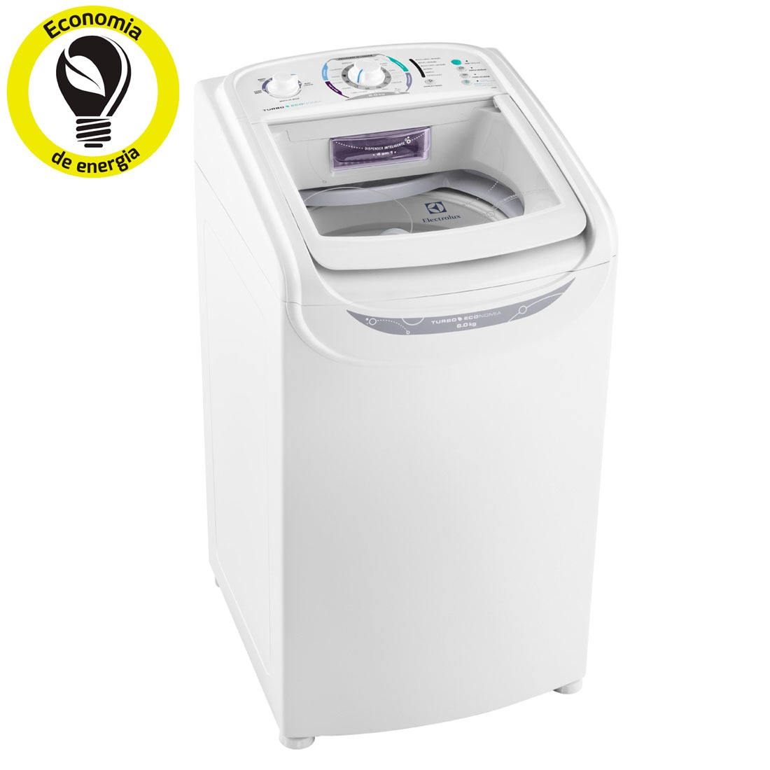 M quina de lavar lavadora de roupa electrolux 8kg 110v for Lavar cortinas en lavadora