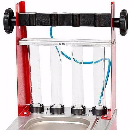 máquina limpeza bico injetor com ultrassom race jet sacch