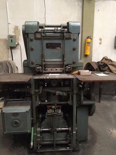 maquina litográfica alto relieve - waite & saville ltd
