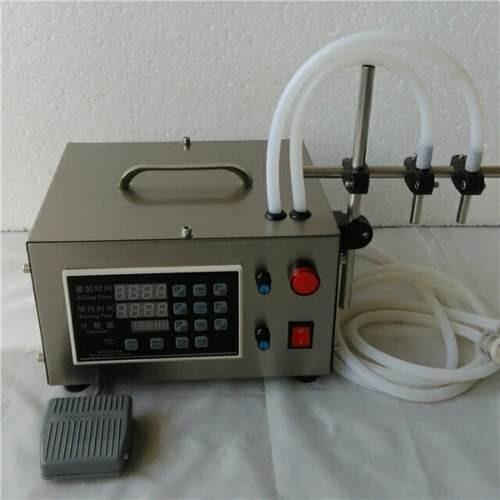 maquina llenadora de botellas agua liquidos 2 cabezas 3.5lpm