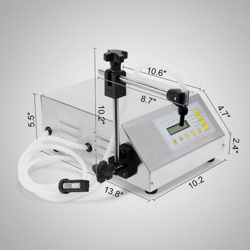 máquina llenadora de liquidos digital de 2 a 3500 ml
