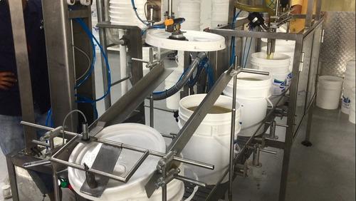 maquina llenadora de pailas, bidones marca viccymatic