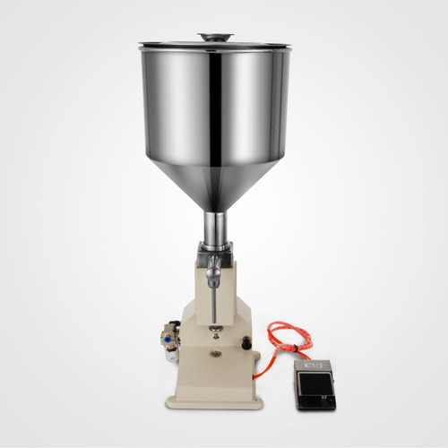 máquina llenadora liquidos viscosos neumatica automatica