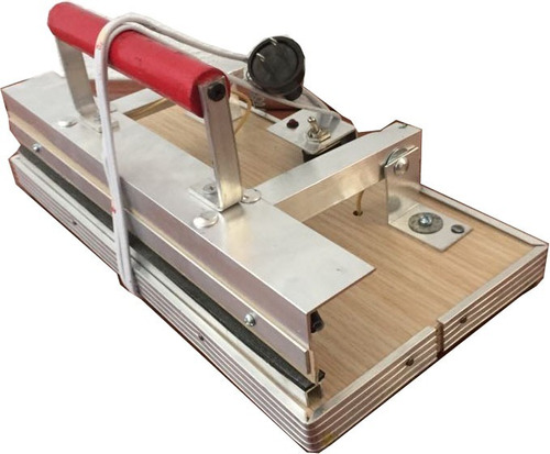 maquina manual 30cm selladora bolsas plastico celofan metali