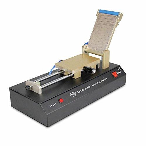 máquina manual oca vidrio lamina de la película de vacío in