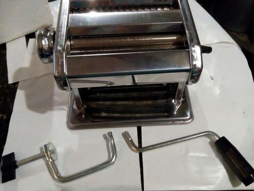 maquina manual para hacer pastas  acero inoxidable