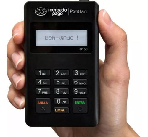 maquina maquininha de cartões de point mini débito e crédito