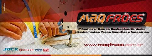máquina mecânica singer facilita pro 2968 18 pt 220v + brind