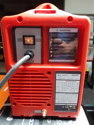 maquina mig/mag arco manual/tig 200 amp