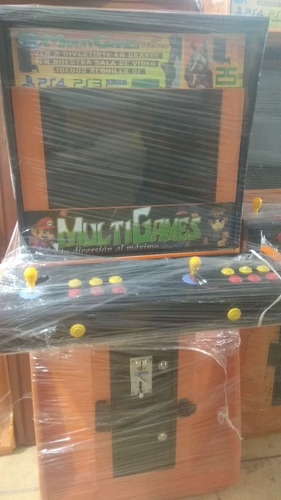 maquina multijuegos arcade con 1400 juegos clasicos