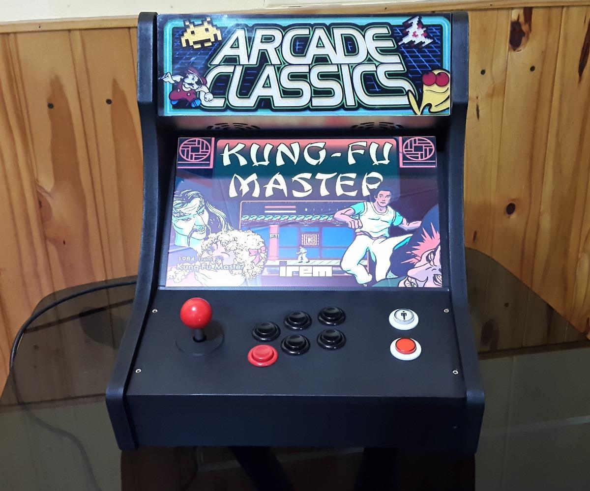 Maquina Multijuegos Arcades Clasicos Anos 80 Y 90 12 000 00 En