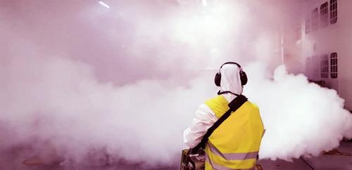 maquina nebulizador ulv fumigadora industrial