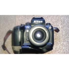 Máquina Nikon F4 C/35-70mm P/colecionador