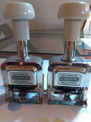 máquina numeradora automática,7 digitos 100% operativa