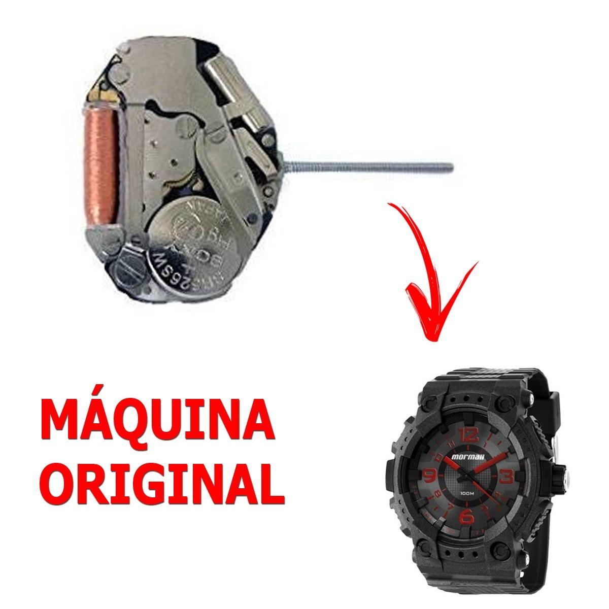 590e7222fe5 Maquina Original P  Relógio Mormaii Mo2035ai - Frete Grátis - R  34 ...