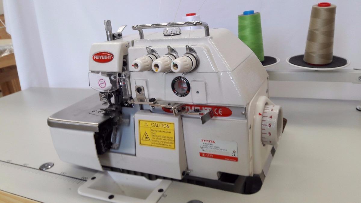 Maquina Overlock 3 Hilos Nueva Industrial Motor Clutch 110