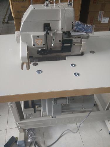 maquina overlock 5 hilos industrial +mesa y motor nueva