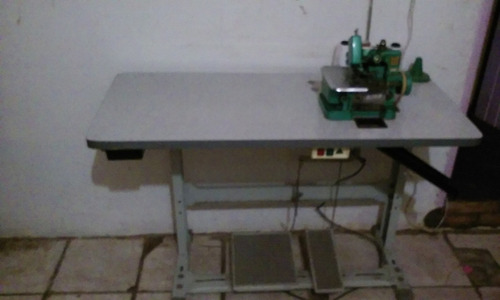 M quina overlock chinesinha butterfly c mesa r 360 for Como echar gotele sin maquina