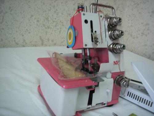 maquina  overlock domestica  4 hilos envio gratis