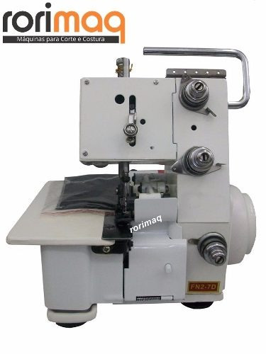 máquina overlock / overloque portátil c/ luz- c/ nota fiscal