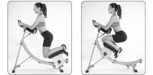 maquina para abdominales con soga y escalador