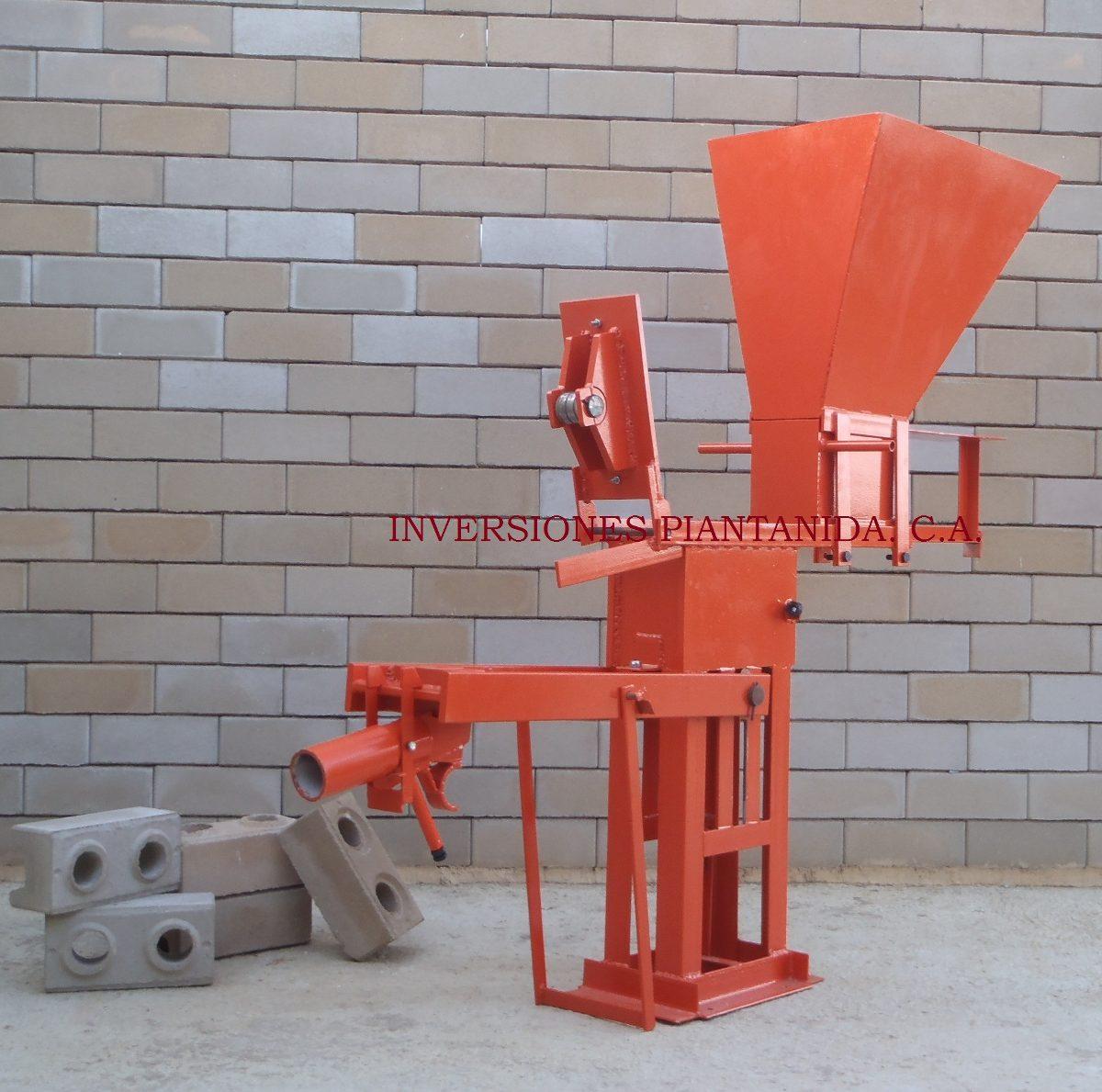 Maquina para adobe lego ecologico bs 9 50 en mercado libre for Cuanto sale hacer una piscina de cemento