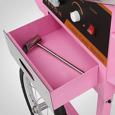 maquina para algodón de azúcar vevor tastiera