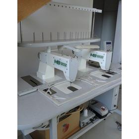 Máquina Para Bordar Computadorizada Com 2 Cabeças Usada