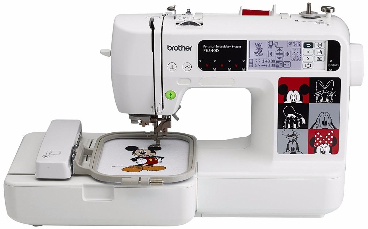 Máquina Para Bordar Con Más De 70 Diseños Brother Pe540d ...