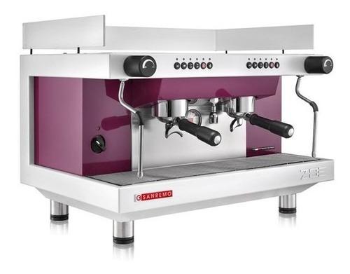 máquina para café marca sanremo mod. zoe automatica 2 grupos