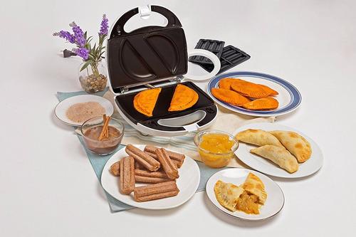 maquina para churros y empanadas 2 en 1, super oferta!