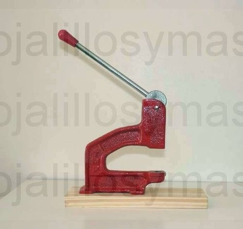 maquina para colocar broches, tachas, ojalillos 12meses gtia