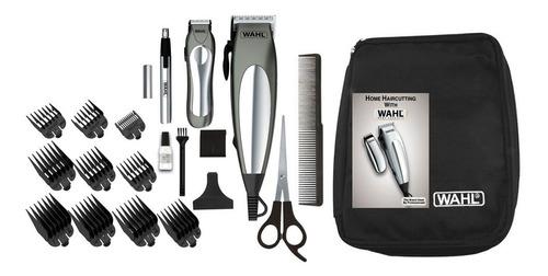 maquina para cortar cabello 21 piezas wahl deluxe groom pro
