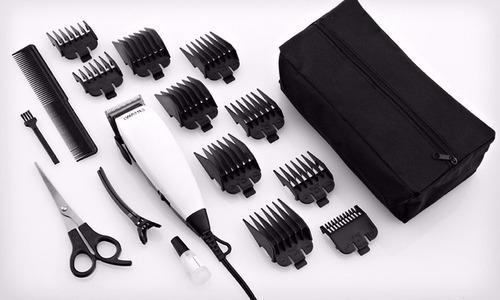 maquina para cortar el cabello wahl 18 piezas corta pelo