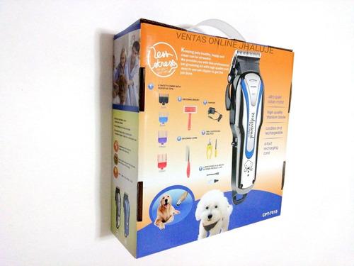 maquina para cortar pelo de mascotas, perros, kit completo