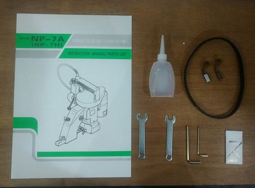 maquina para coser costales/ cosedora /cerradora de sacos