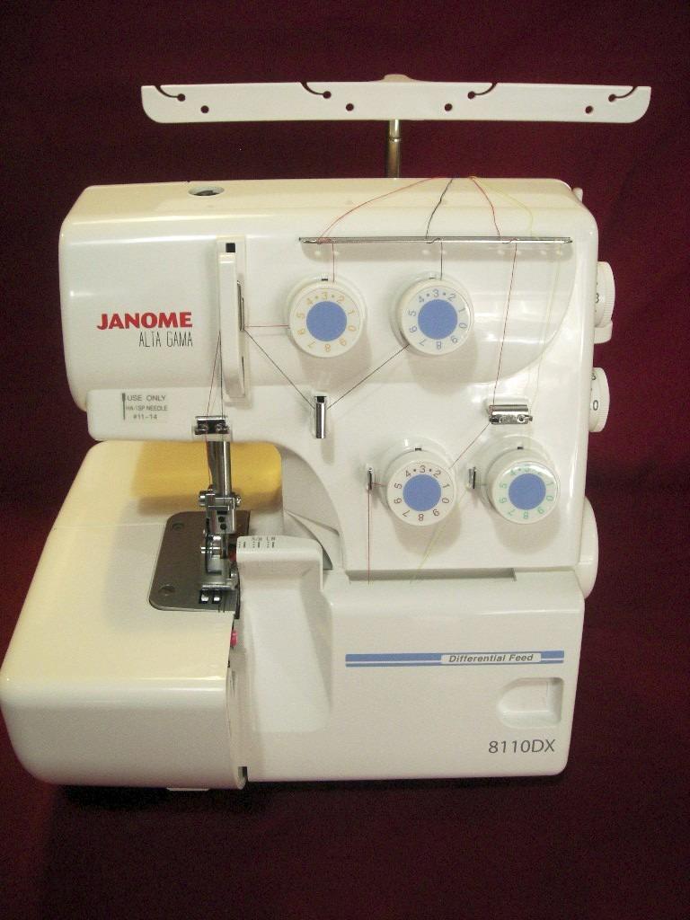 Maquina Para Coser Overlock Janome 8110dx Nuevo Modelo - $ 18.250,00 ...