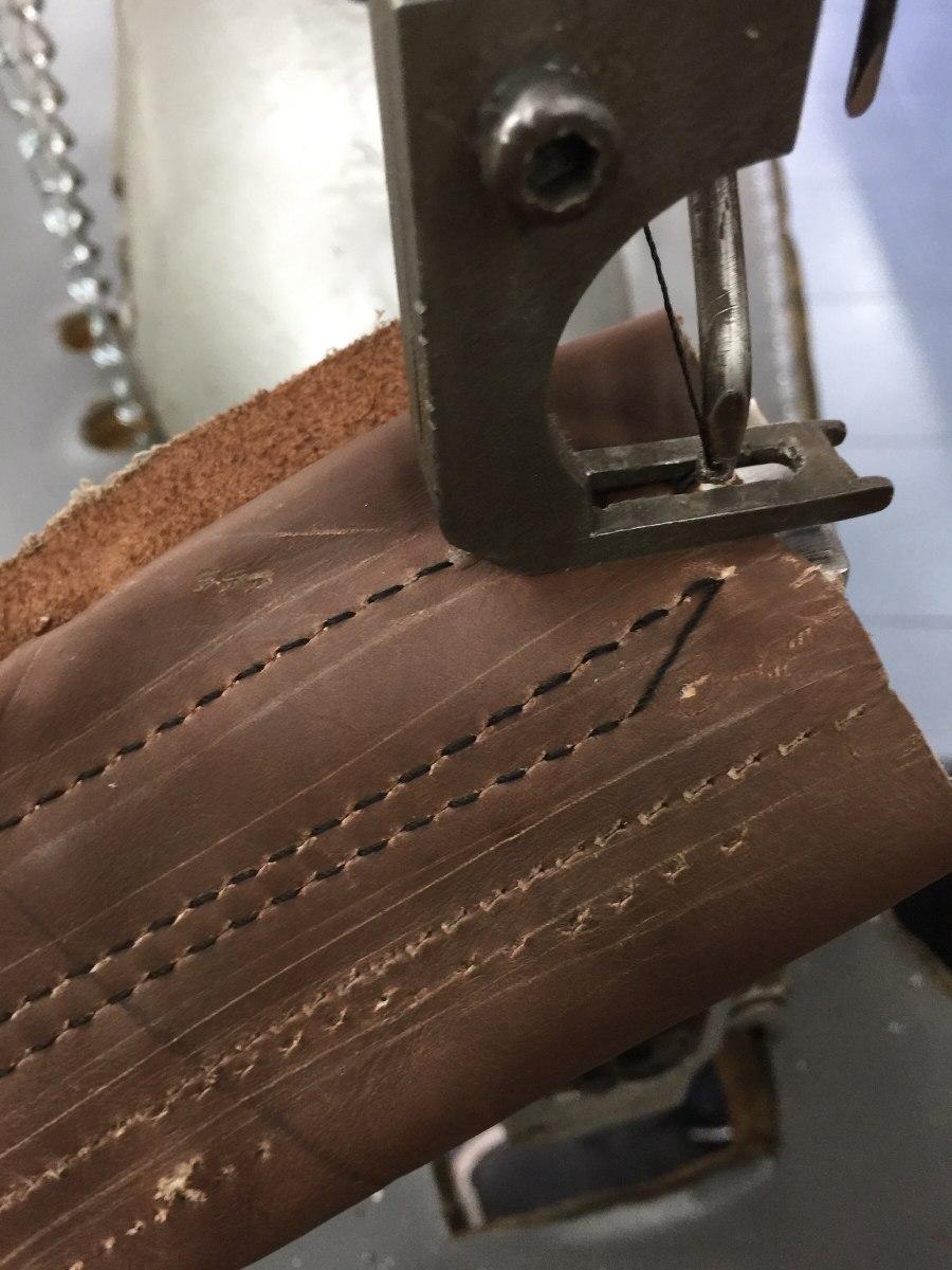 Maquina Para Coser Piel Cuero Lona Zapato Marca Puritan