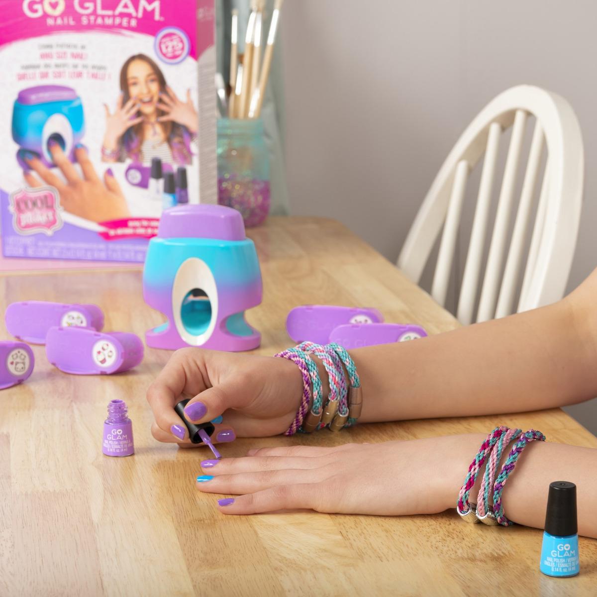 Máquina Para Decorado De Uñas Go Glam Nail Stamper Cool