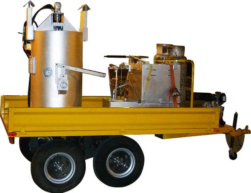maquina para demarcación vial con pintura de tráfico