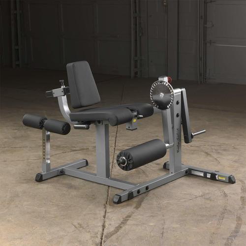 máquina para ejercitar las piernas body-solid gcec340 cam