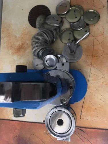 máquina para ensamblar botones  5.5 + cortador + herrajes