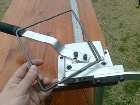 maquina para fabricar estribos de hierro de construccion