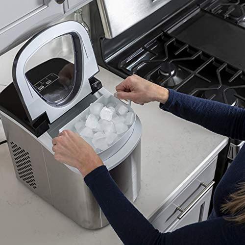 maquina para fabricar hielo fabricador hielo portátil